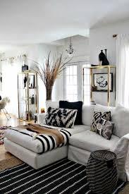 4fleamarket living room white black