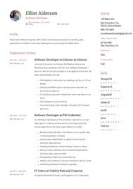 Software Developer Resume Samples Guide Software Developer Resume 12 Samples Word Pdf