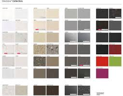 Quartz Stone Colour Chart Silestone Natural Engineered Stone Benchtops