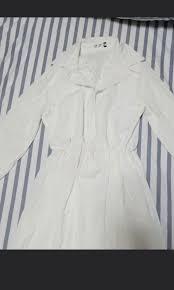 White Dress Playboy Womens Fashion Clothes Dresses