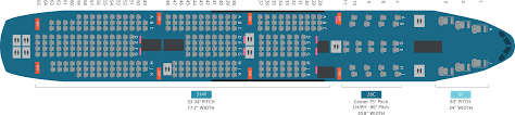 B744 Seating Chart Korean Air Releases 747 8 Seat Map Airliners Net