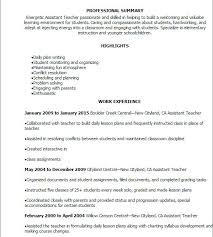 My Perfect Resume Templates Cool 40 Assistant Teacher Resume Templates Try Them Now Myperfectresume