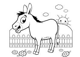 Kleurplaten Tinker Paard