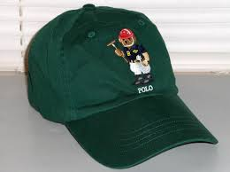 polo by ralph lauren tan baseball cap hat with leather back adjustable strap for