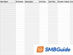 Basic Inventory Spreadsheet How To Create An Inventory Sheet With Free Sample Download