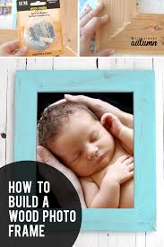 how to make a wood frame easy tutorial for a diy wood frame