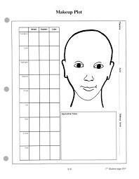 design template se makeup practice pdf