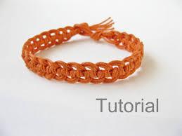 Macrame Bracelet Patterns Inspiration Quick Macrame Bracelet Tutorial Pattern Pdf Knotonlyknots DMA