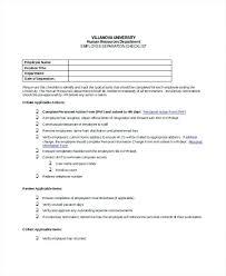 Employee File Checklist Free Download Employee File Checklist Employee Checklist
