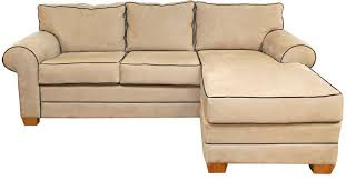 sectional bleeker oyster navy microsuede
