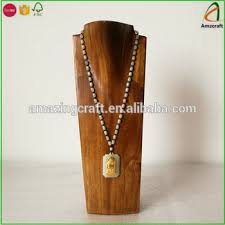 Wholesale Jewelry Display Stands Cool Wholesale Solid Necklace Display Bust Wood Jewelry Stands Buy
