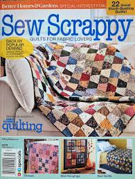 Better Homes & Gardens SEW SCRAPPY Magazine 2017 - Quilts for ... & Better Homes & Gardens SEW SCRAPPY Magazine 2017 - Quilts for Fabric  Lovers: Better Homes and Gardens Special Interest Publications:  0737079125463: ... Adamdwight.com