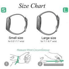 Fitbit Alta Wrist Size Chart Fitbit Size Chart Buurtsite Net