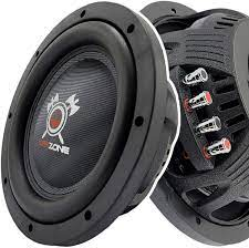 Buy Gravity Warzone WZ10D4-1 10 Inch 1200 Watt Max Power Elite Car Audio  Shallow Subwoofer 4 Ohm DVC - Dual Voice Coil Stereo Competition Grade Sub  - Single Subwoofer Online in Vietnam. B0923D4BGL