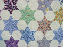 view of the fabrics and the quilting | Patchwork | Pinterest ... & view of the fabrics and the quilting. Paper Pieced QuiltsStar QuiltsStar  Quilt PatternsWedding QuiltsHexagon ... Adamdwight.com