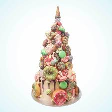 Matcha Croquembouche Wedding Cake London