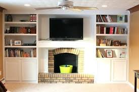 diy built in shelves around fireplace built ins around fireplace diy built in shelves next to
