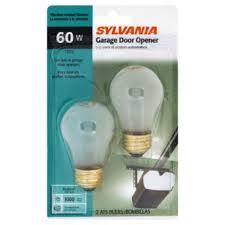 sylvania 10886 light bulbs garage door opener 60 w garage door opener lights flicker