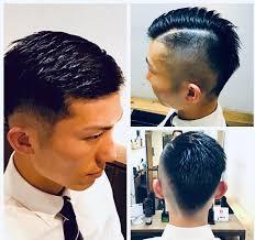 都島区男性専門美容室プラス男髪夜9時まで受付 直毛