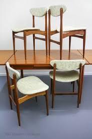 mid century chatley teak dining chairs x 4 vine retro danish parker eames scandi era in home garden furniture dining room furniture