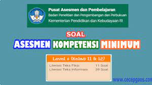 Latihan soal asesmen kompetensi minimum sma ma tahun 2021 selengkapnya dapat dibaca dan diunduh pada link berikut ini. Contoh Soal Akm Online Level 6 Kelas 11 Dan 12 Sma Cecepgaos Com