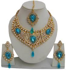 Color <b>Hand</b> Made Jewelry <b>Wedding Necklace</b> Set at Rs 850 /piece(s ...