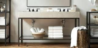 Restoration Hardware Vanity Interesting Bathroom Art Ideas For  Bath Look Alike Home Design Sink A90