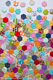 1035 best I ❧ Quilt images on Pinterest | Hexagon quilting ... & A Love For Hexagons Adamdwight.com