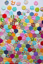 Best 25+ Hexagon quilting ideas on Pinterest | Hexagon quilt, What ... & A Love For Hexagons. Hexagon QuiltingHexagon PatchworkHexagon  PatternPatchwork ... Adamdwight.com