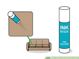 image titled remove ink stains from leather step 6