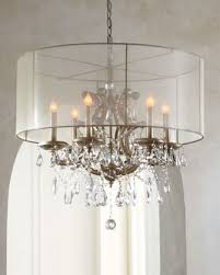 drum shade chandelier with crystals home design ideas chandeliers intended for brilliant household drum shade chandelier with crystals remodel