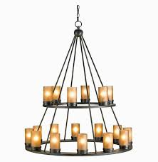 inspirational large rustic chandelier candle chain black wrought iron tiered for metal chandelier