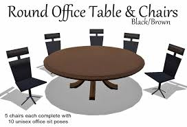 small round table for office. exquisite design round office table and chairs brown box small for