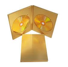 Making A Cd Case Usd 4 67 Golden Disc Box Double Disc Wooden Box Gold Cd Wooden Box
