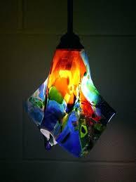 art glass pendant lights hand blown light fixtures modern art glass pendant