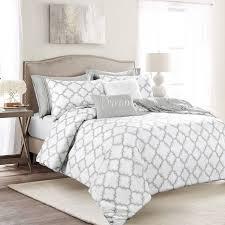 myrick pintuck comforter set grey