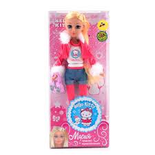 <b>Кукла</b> КАРАПУЗ <b>Мария Hello Kitty</b> Зимние Приключения 29 см ...