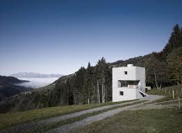 Concrete Cabin Cubic Concrete Mountain Cabin By Martemarte Architekten