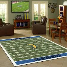 rugs los angeles chargers football field rug area rug fan rugs vintage turkish rugs los angeles