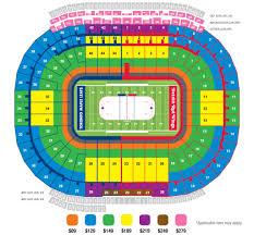 Michigan Stadium Seating Chart With Rows 2014 Bridgestone Winter Classic Update Will My Seats Suck