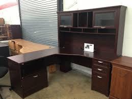 cherry custom home office desk. Furniture:Cherry Corner Desk White L Best Shaped Office Left Hand Cherry Custom Home R