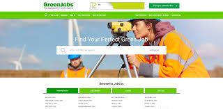 latest news strategies green jobs launch their new network of recruitment websites