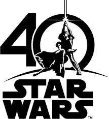 Star Wars 40th Anniversary (1977-2017) Logo Vector (.EPS) Free Download