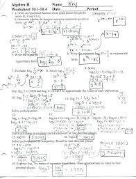 matrix algebra 2 worksheet algebra 2 worksheets