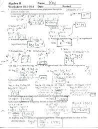 matrix algebra 2 worksheet algebra 2 worksheets