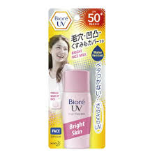 biore uv bright face milk spf 50 sunscreen makeup base 30ml