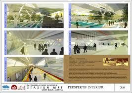 Small Picture Sayembara stasiun MRT lebak bulus by emanuel agung wicaksono at