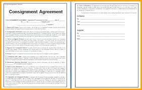 Letter Of Agreement Samples Template Adorable Simple Distribution Agreement Template Simple Consignment Agreement