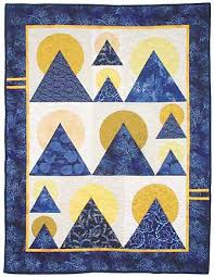 mountain quilt block pattern | Moon over mountain quilt pattern ... & mountain quilt block pattern | Moon over mountain quilt pattern Download –  Infolizer Adamdwight.com
