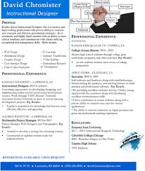 Marvelous Instructional Designer Resume Wellsuited Resume Cv